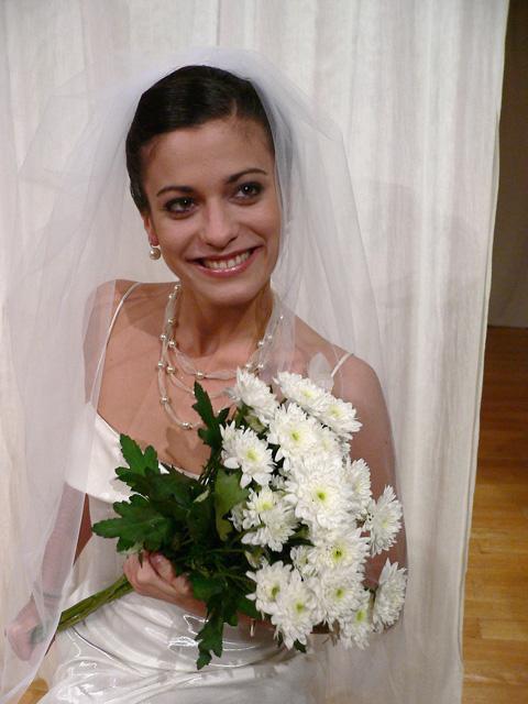 Modèle Chignon de Mariage
